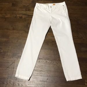 Anthropologie White Jeans